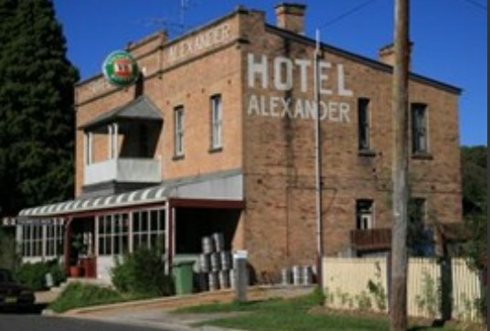 Alexander Hotel Rydal - Bundaberg Accommodation