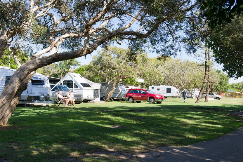 Dicky Beach Family Holiday Park - Bundaberg Accommodation
