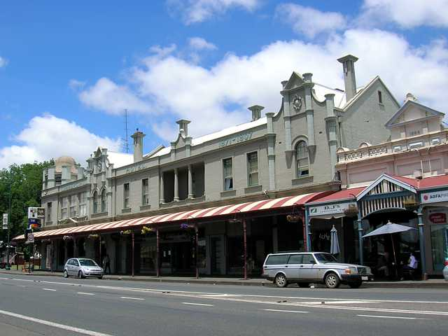 Commercial Hotel Camperdown - Bundaberg Accommodation