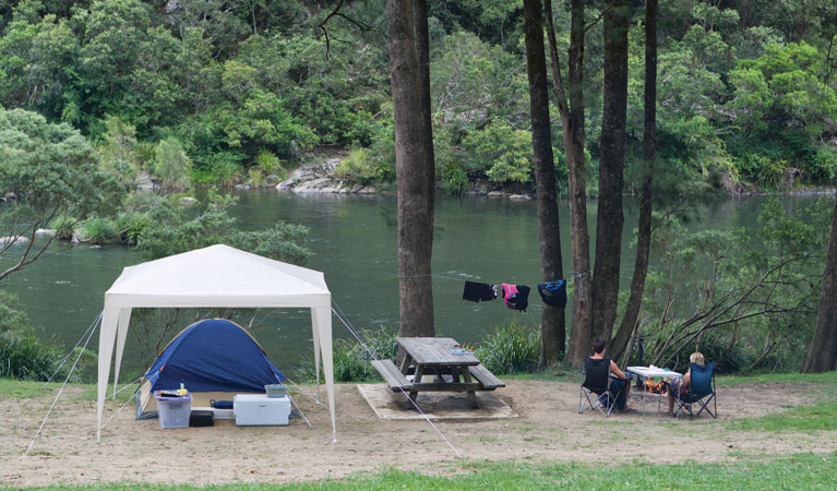 Platypus Flat campground - Bundaberg Accommodation