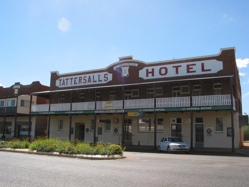 Tattersalls Hotel Baradine - Bundaberg Accommodation