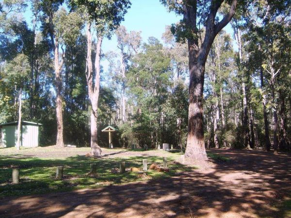 Workmans Pool Camp at St John Brook National Park - Bundaberg Accommodation