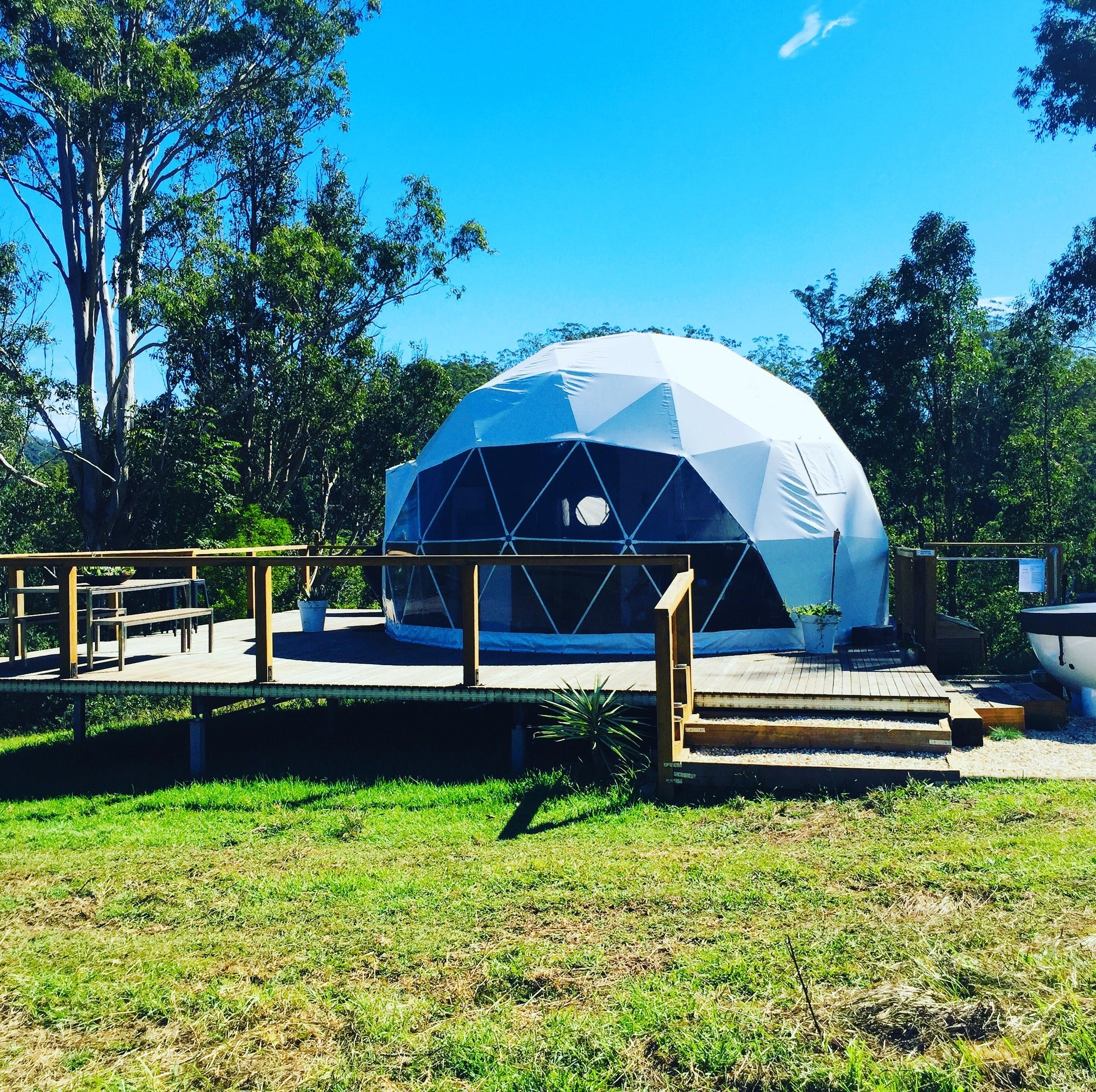 Nature Domes - Bundaberg Accommodation