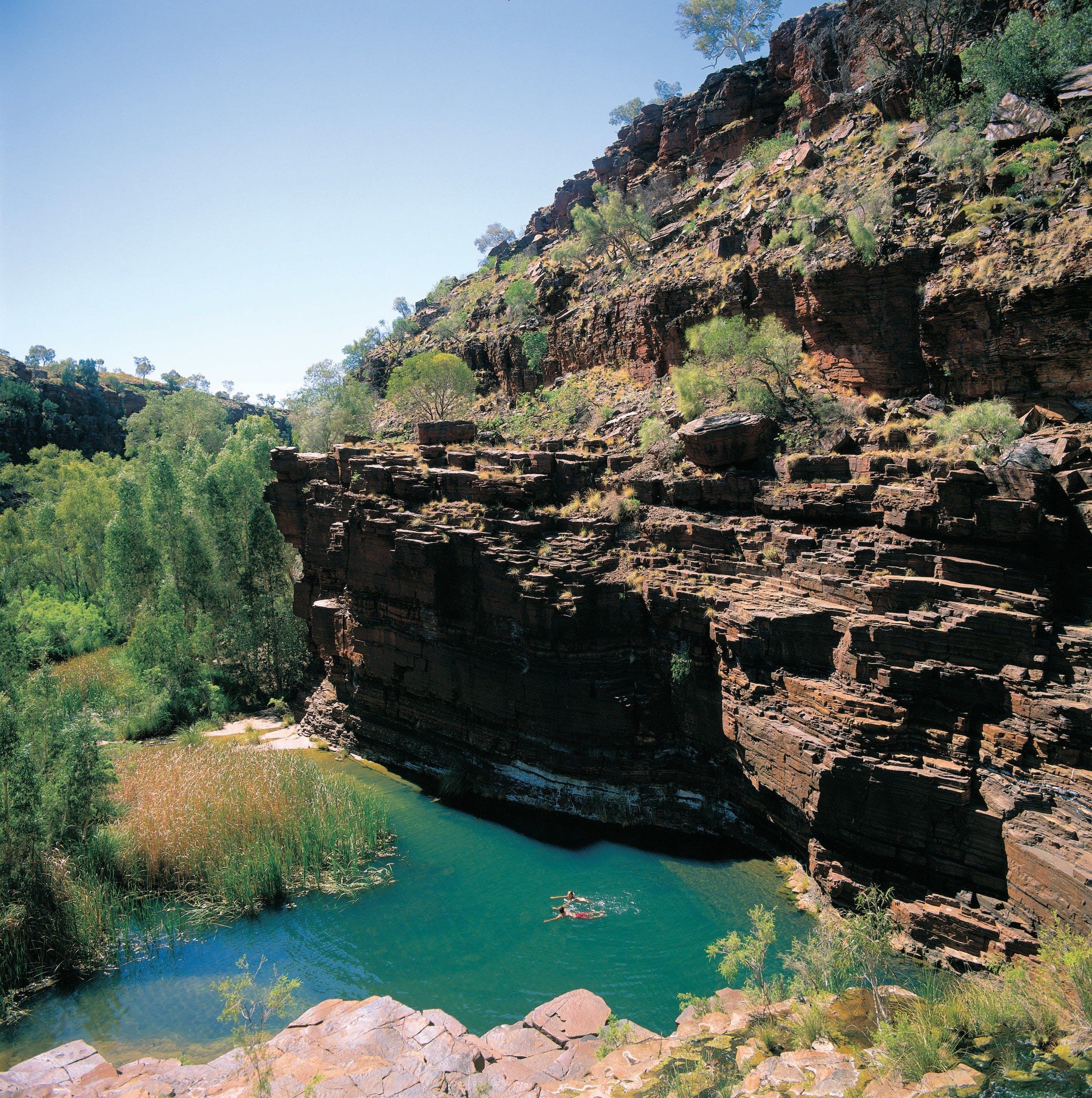 Dales Gorge Camp at Karijini National Park - Bundaberg Accommodation
