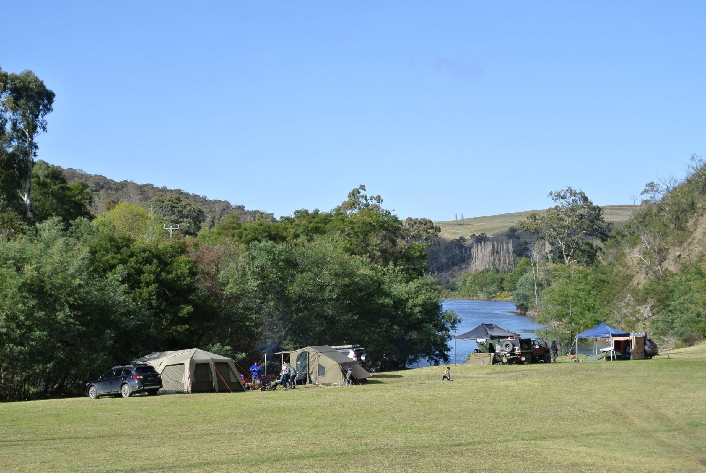 Montana on the Macalister Campground  Caravan Park - Bundaberg Accommodation
