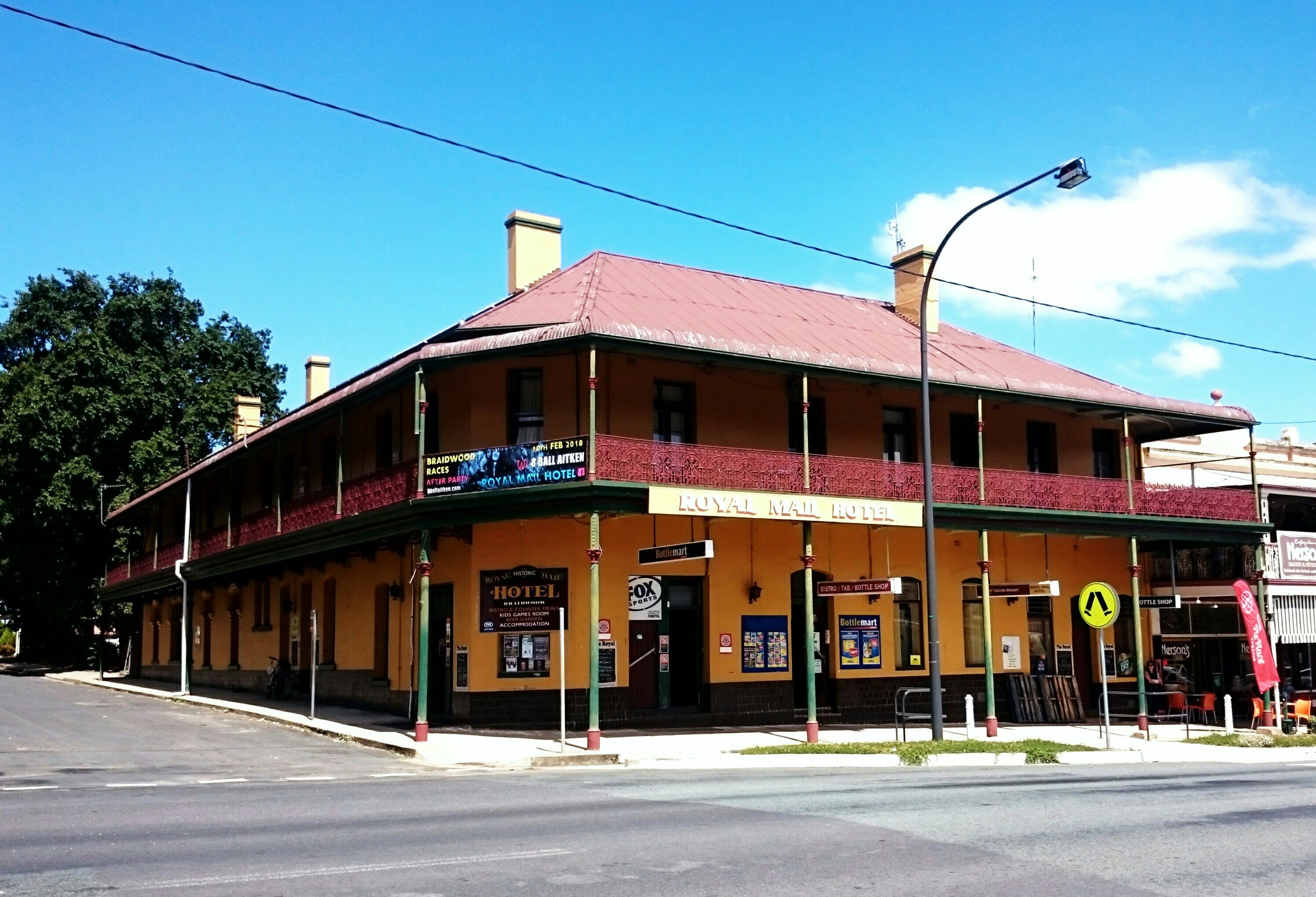 Royal Mail Hotel Braidwood - Bundaberg Accommodation