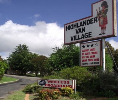 Highlander Van Village - Bundaberg Accommodation