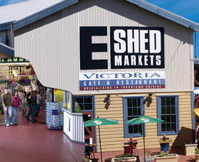 The E Shed Markets - Bundaberg Accommodation