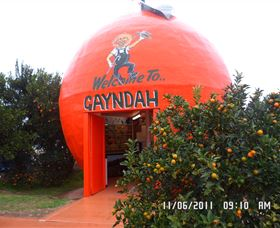 Gayndahs Big Orange - Bundaberg Accommodation