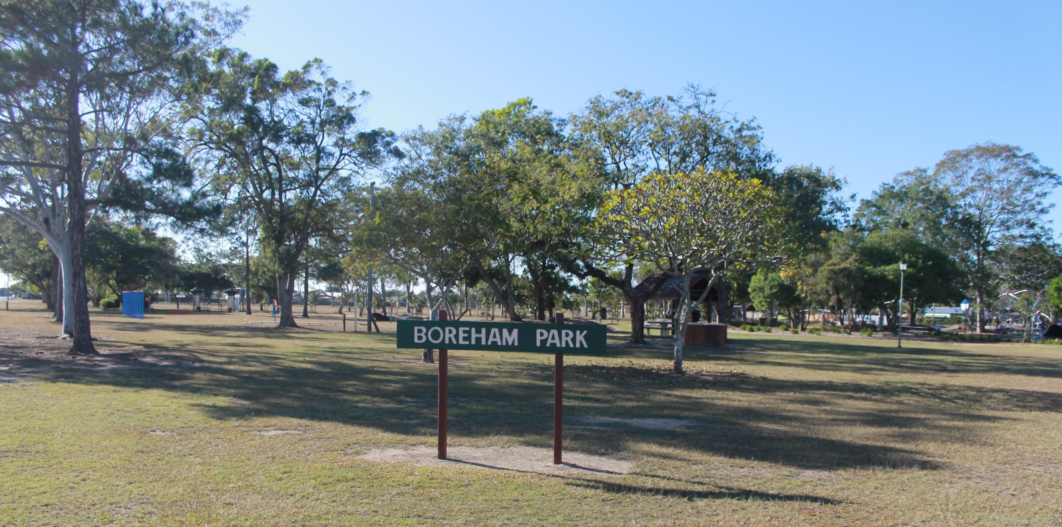 Boreham Park and Playground - Bundaberg Accommodation