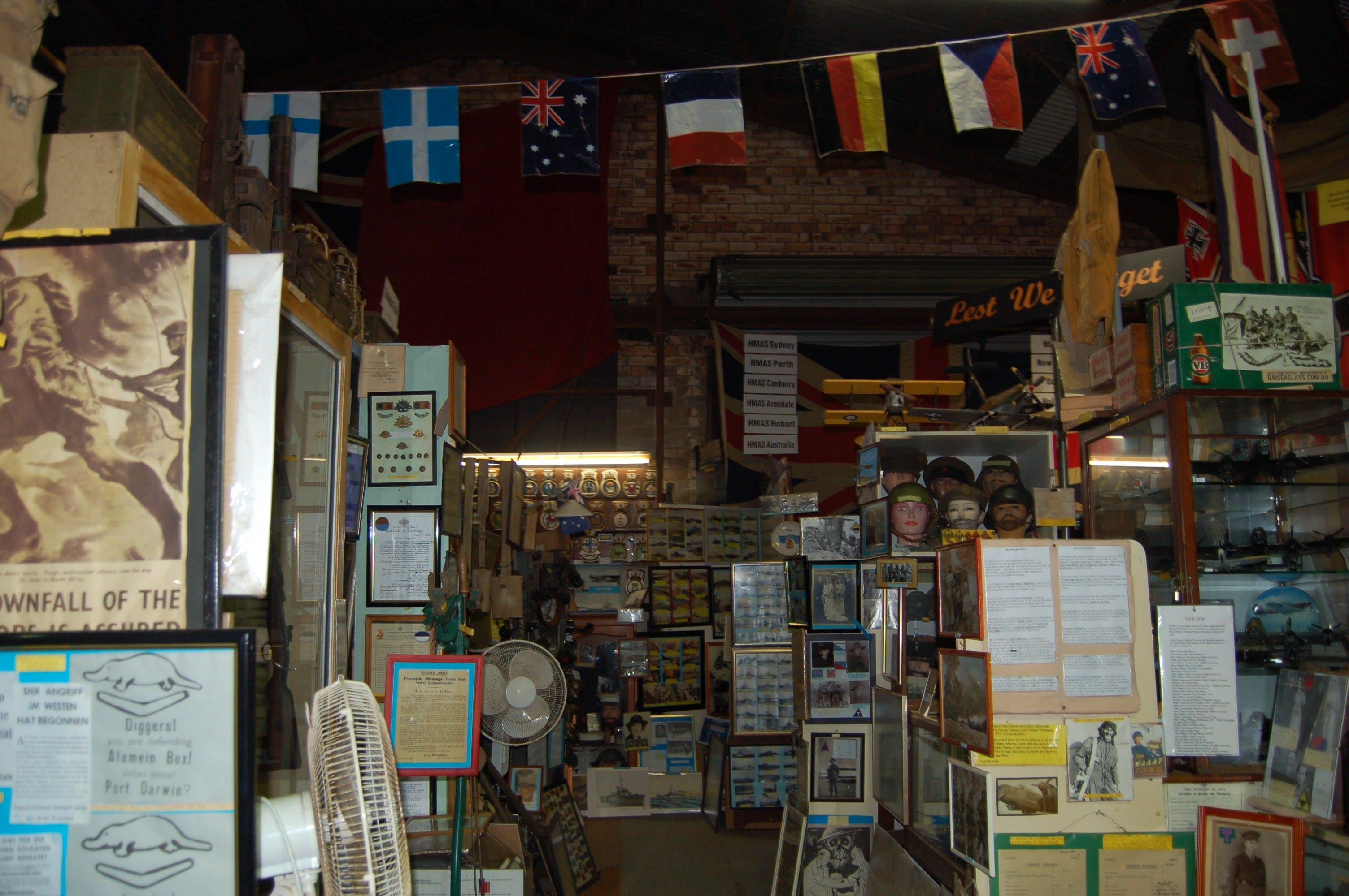 Military and Memorabilia Museum - Bundaberg Accommodation
