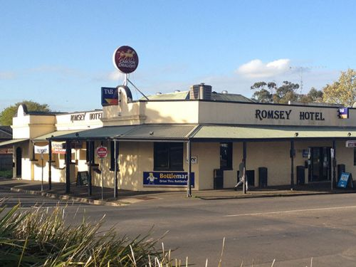 Romsey Hotel - Bundaberg Accommodation