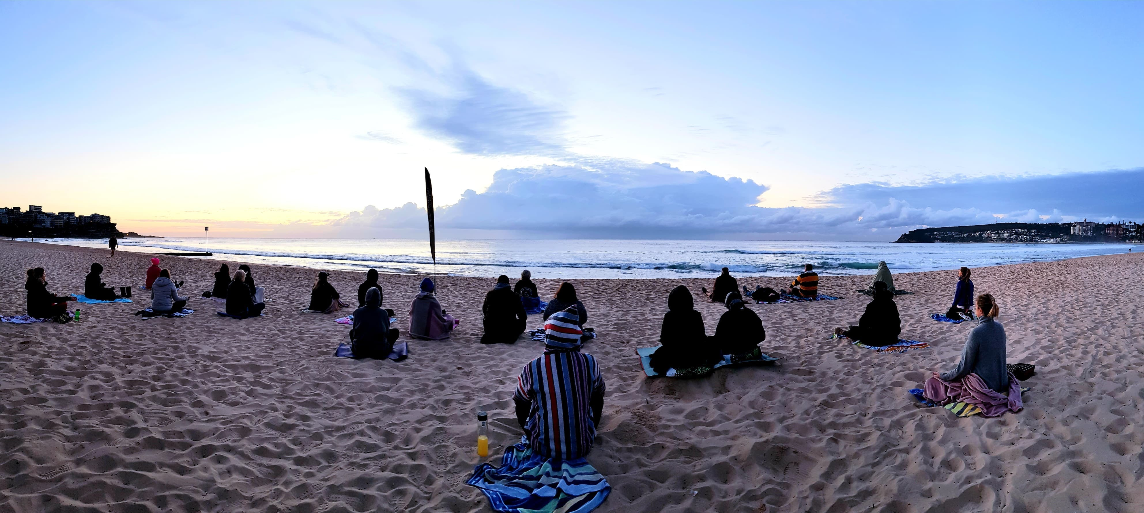 Making Meditation Mainstream Free Beach Meditation Sessions - Avalon Beach - Bundaberg Accommodation