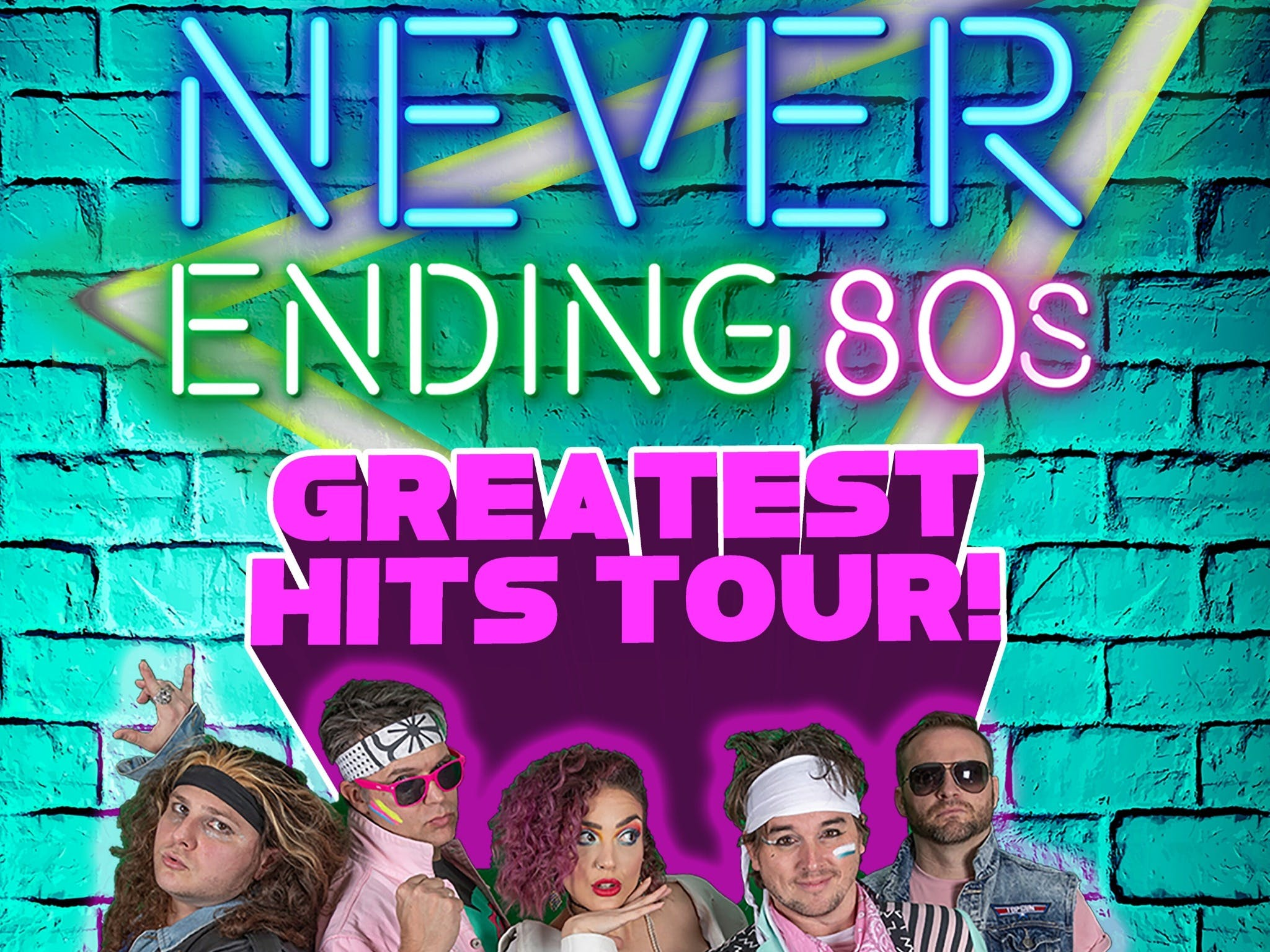 Never Ending 80s - The Greatest Hits Tour - Bundaberg Accommodation
