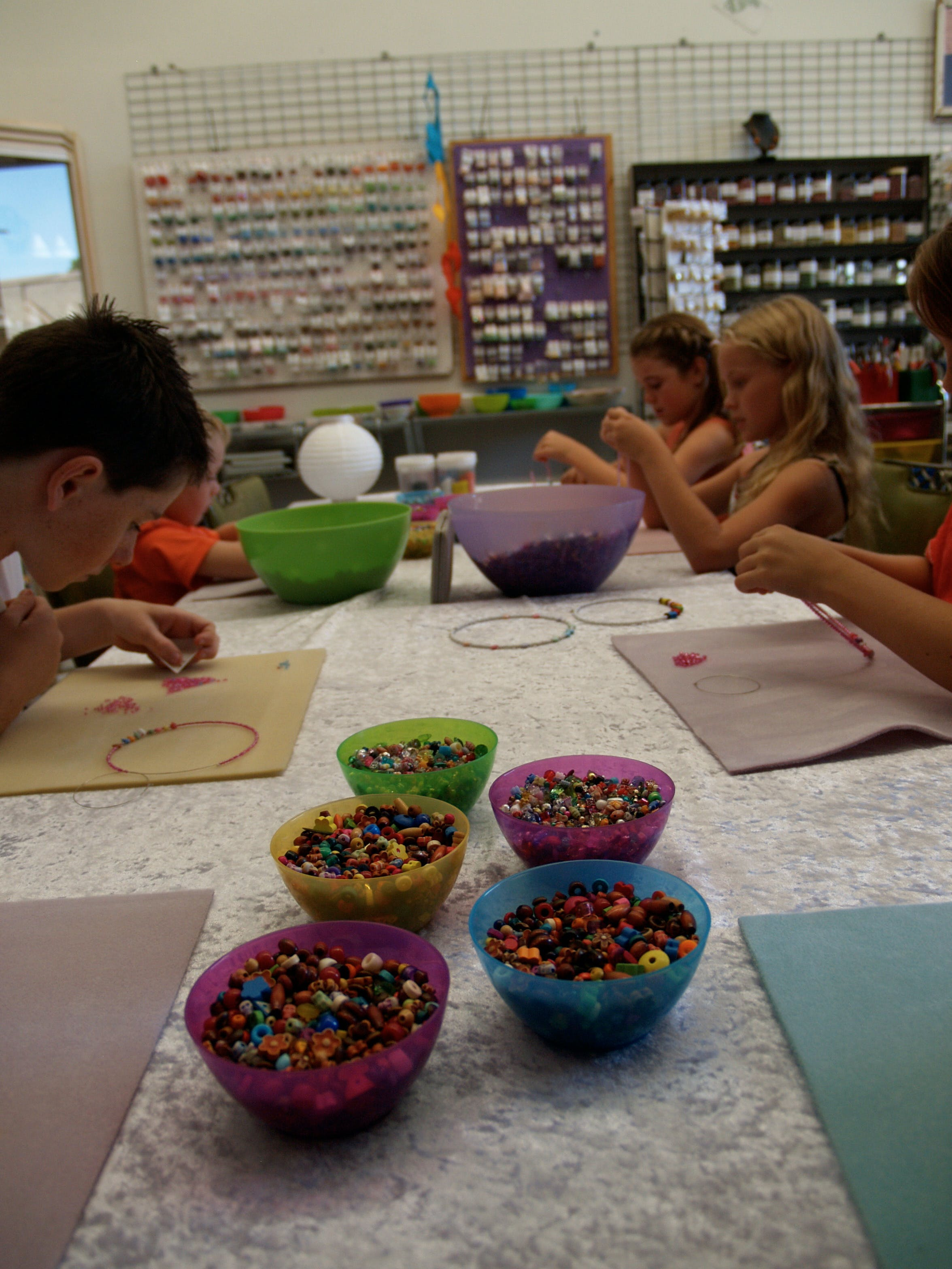 School Holiday One Hour Beading Workshops - Bundaberg Accommodation