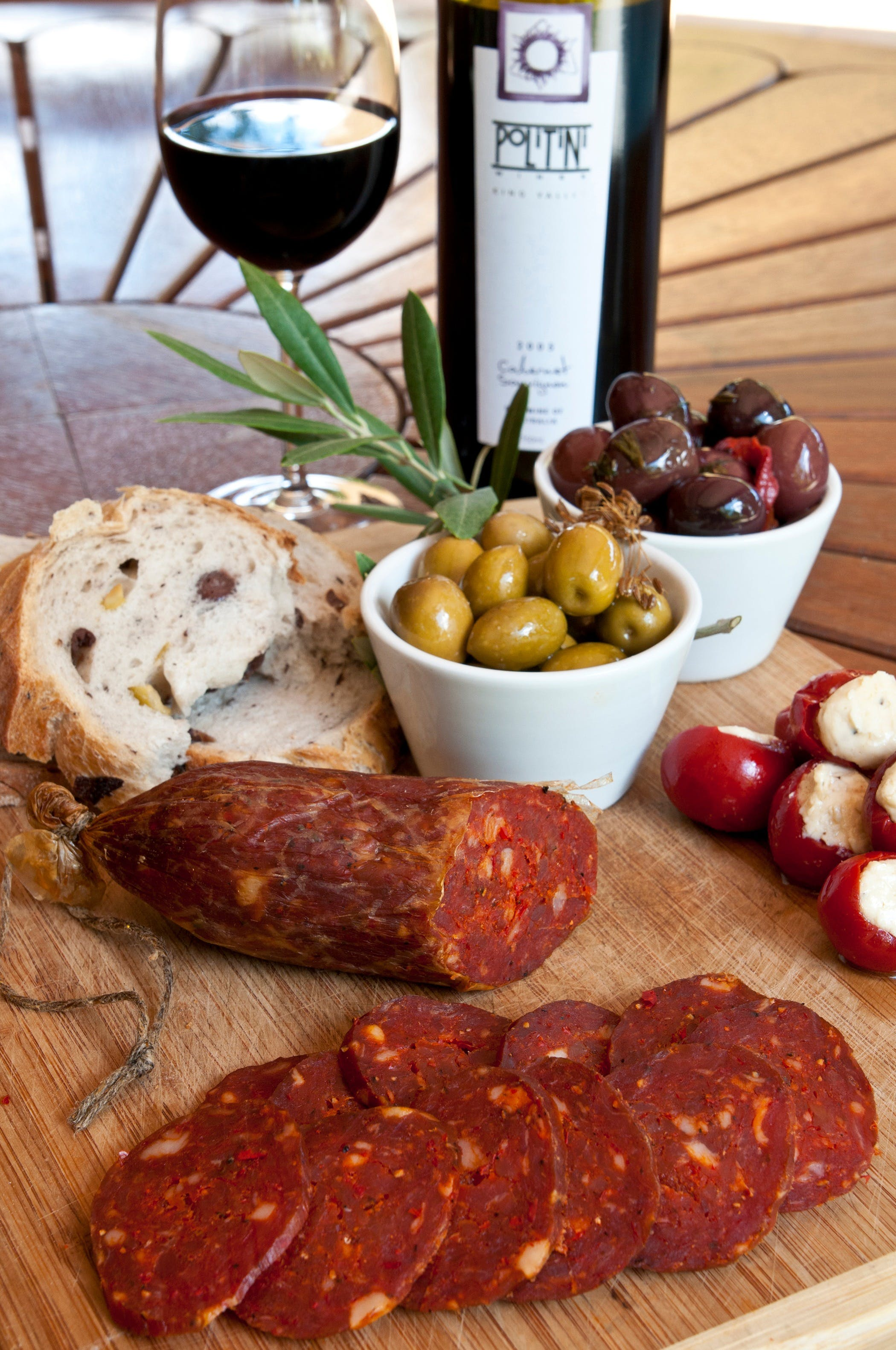 Salami and Salsicce Making classes at Politini Wines - Bundaberg Accommodation