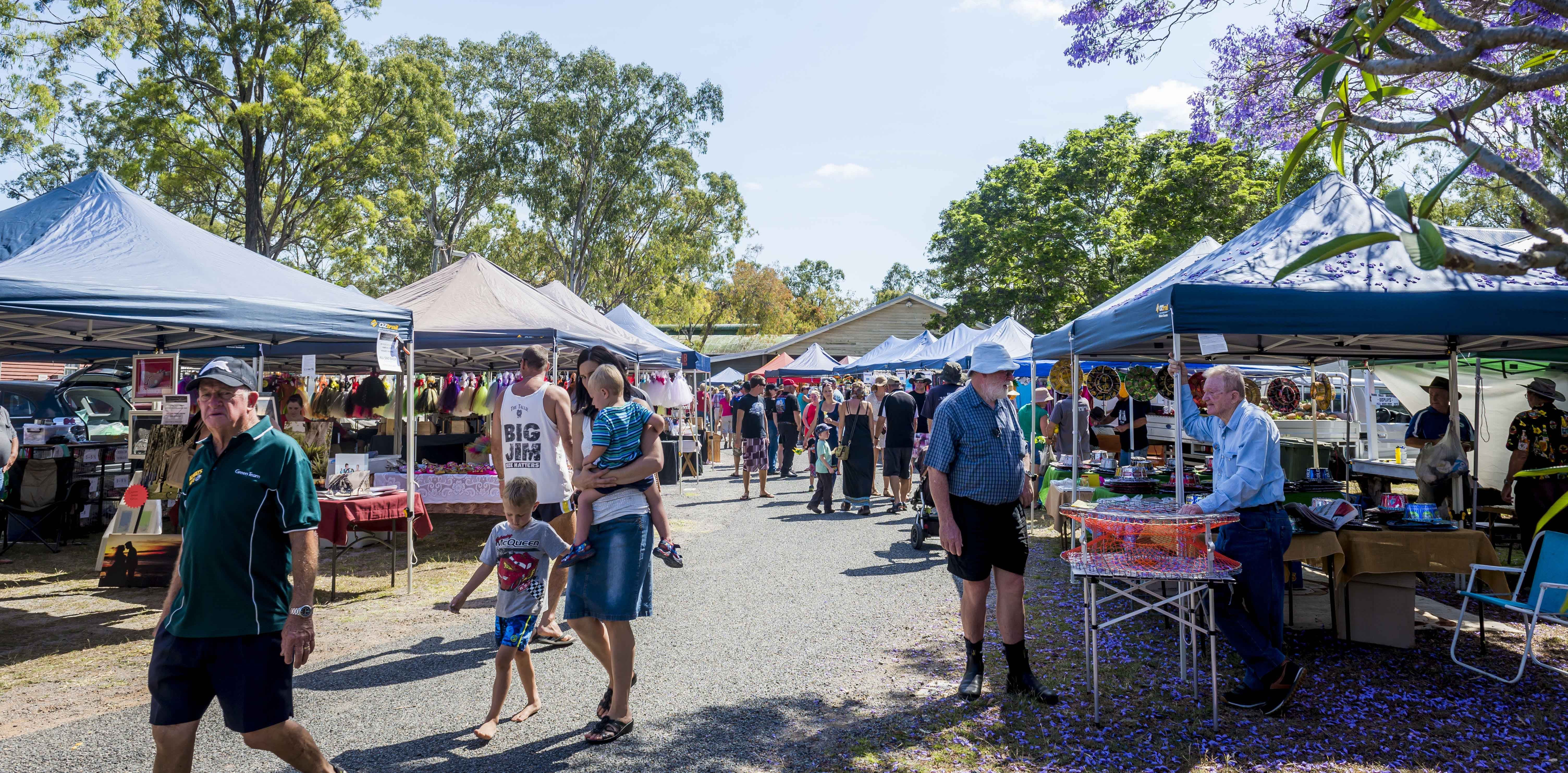 Calliope Historical Village Markets - Bundaberg Accommodation