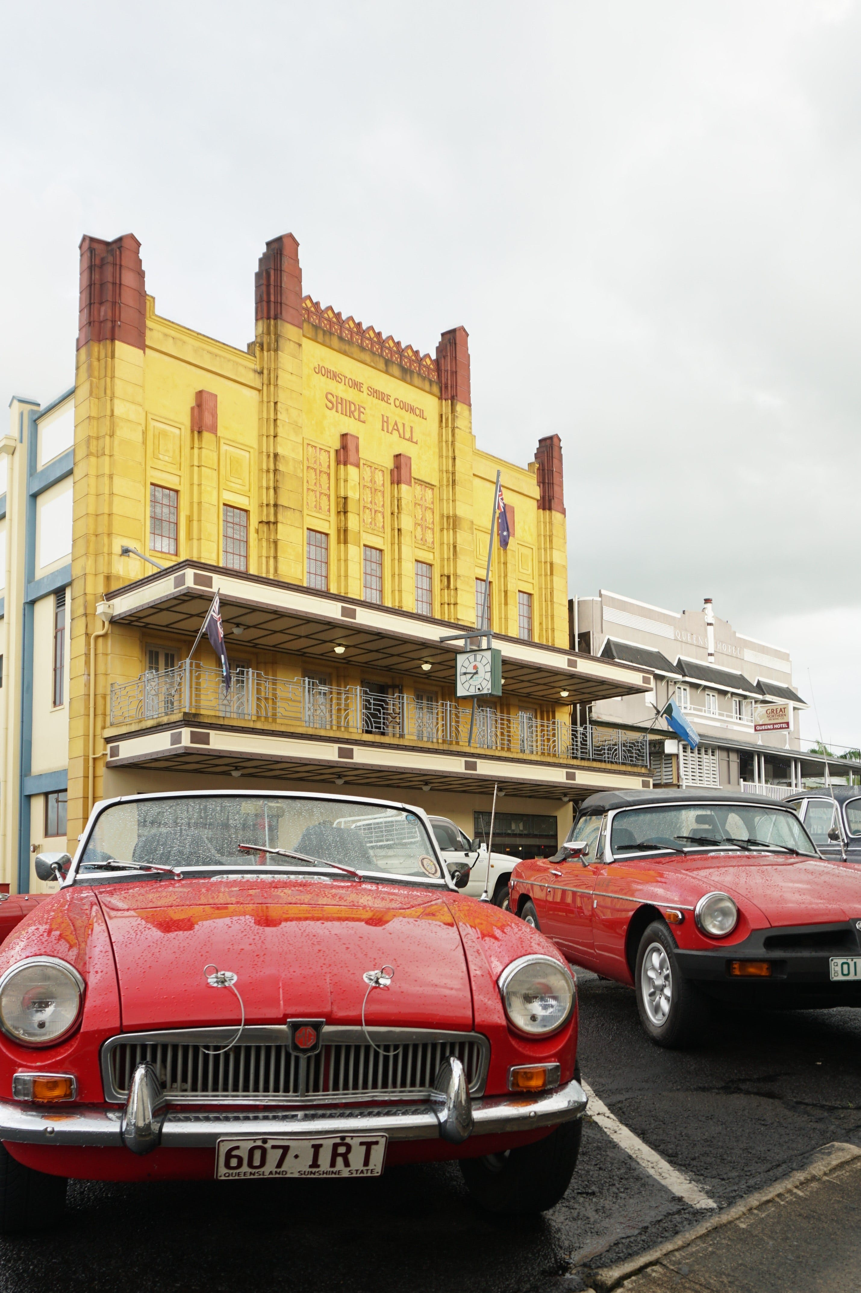 Tour de Cassowary - Classic Car Tour - Bundaberg Accommodation