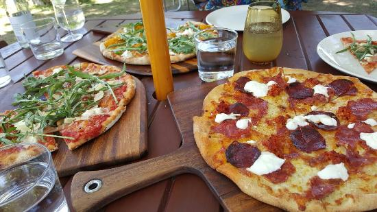 Bank Street Wood Fired Pizza and Gardens - Bundaberg Accommodation