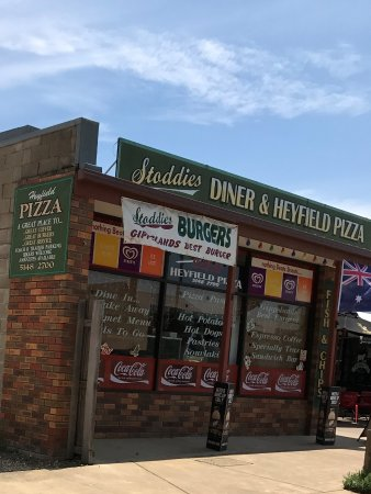 Stoddies Diner  Heyfield Pizza - Bundaberg Accommodation