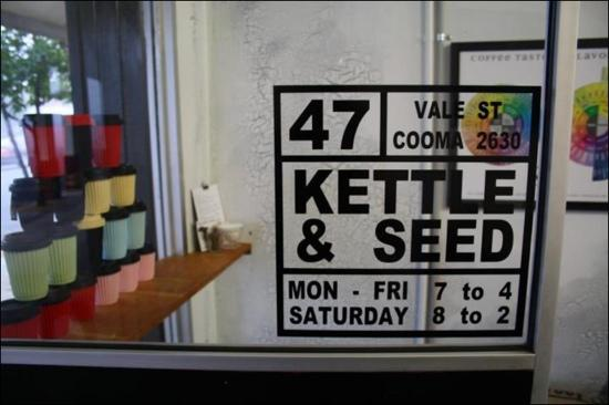 Kettle  Seed Cafe and Coffee Roaster - Bundaberg Accommodation
