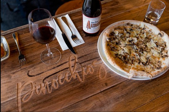 Pinocchios Wine  Pizza Bar - Bundaberg Accommodation