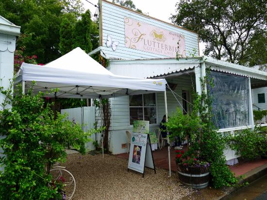 Flutterbies Cottage Cafe - Bundaberg Accommodation